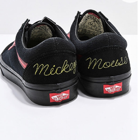 RARE Disney Vans Old Skool Mickey Mouse Club Shoes
